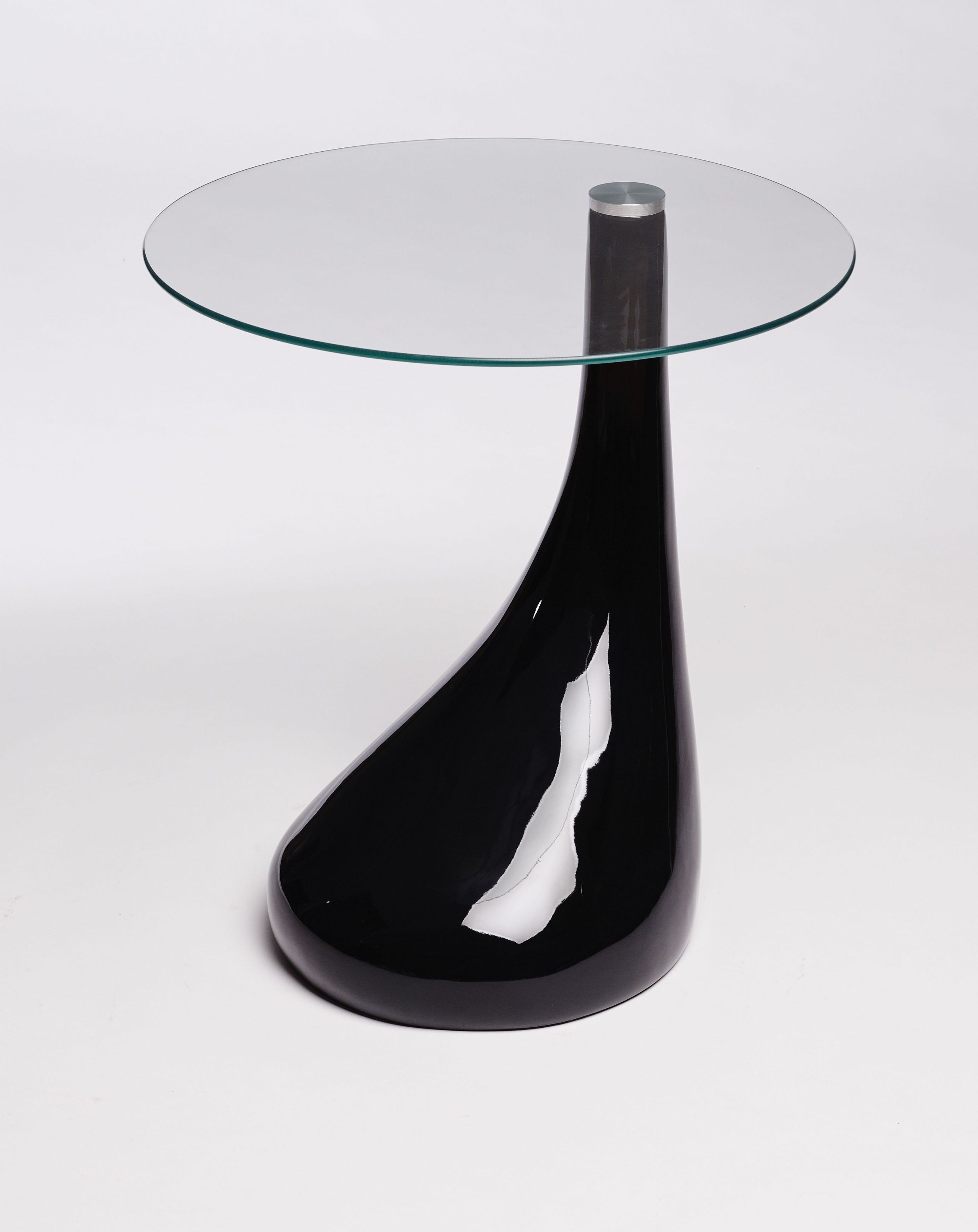 side table end lamp round black gloss modern glass trunk nightstand with drawers thomasville leather sofa foot tall and white coffee babcock home furniture metal accent avalon