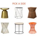 side table for every occasion scout and arrow sidetables hourglass accent medium oak console seater marble dining affordable bedroom sets elephant wood outside cover acrylic glass 150x150