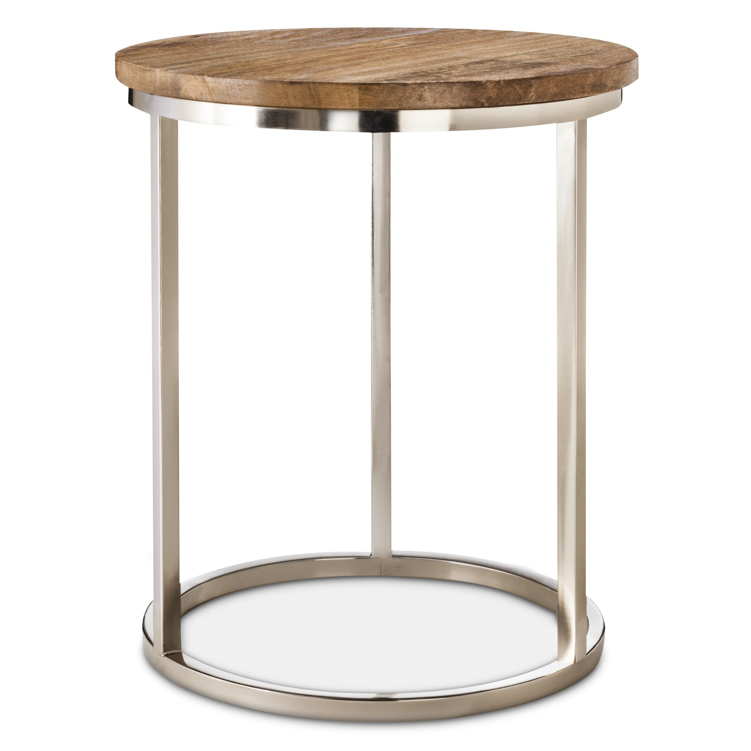 side table for glider threshold metal accent with wood top target home interior accessories black end glass steel furniture legs patio storage rustic tables large square white