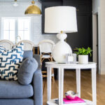 side table lamp combinations fresh family room tour studio mcgee nautical accent lamps quincy gannet our claybourne project dale tiffany dragonfly dark wood sofa ping entry and 150x150