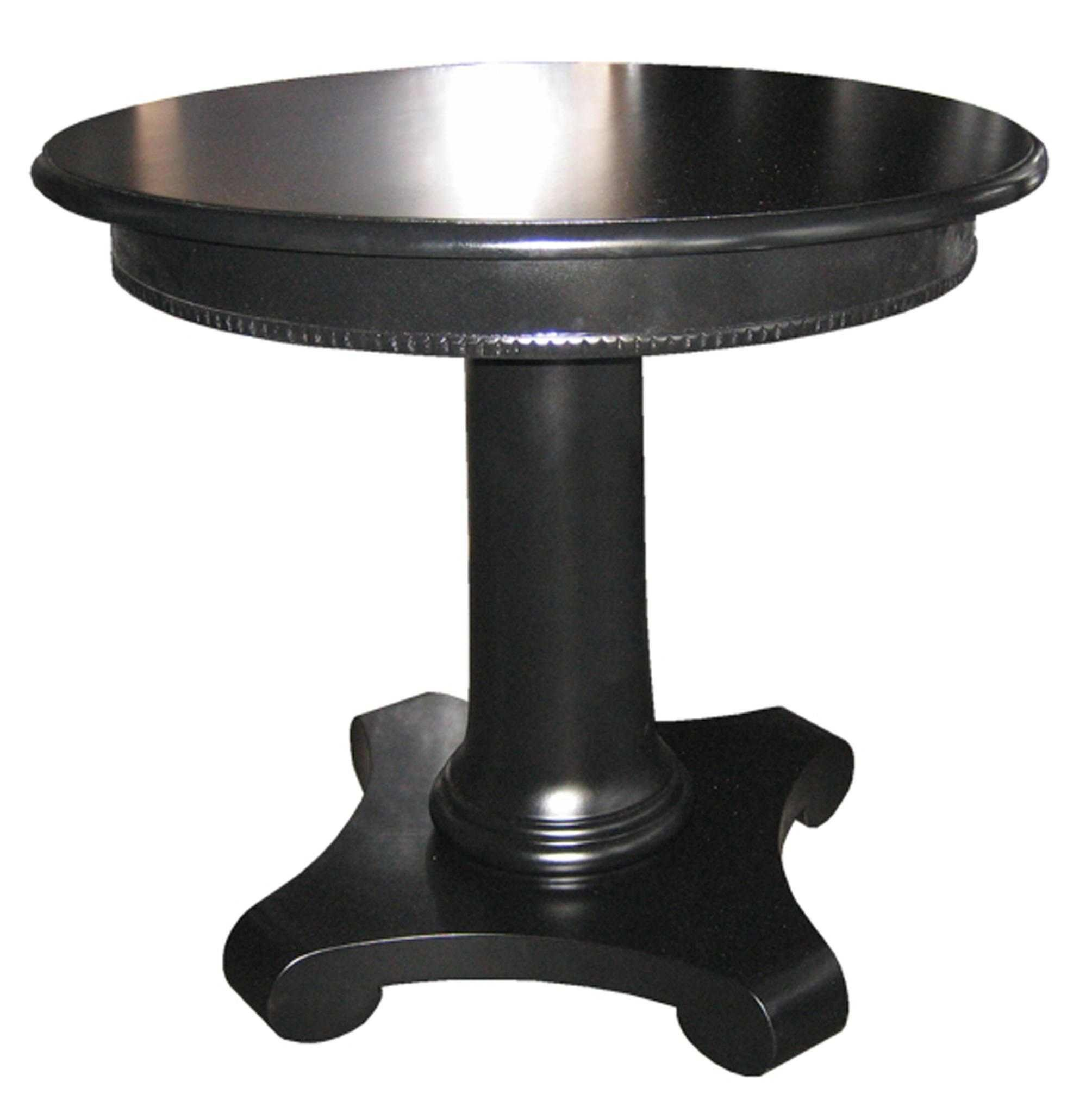 side tables mortise tenon black rond table gloss finish small round pedestal accent northern wood and glass faux marble top end light bulb brushed silver corner ikea centerpieces