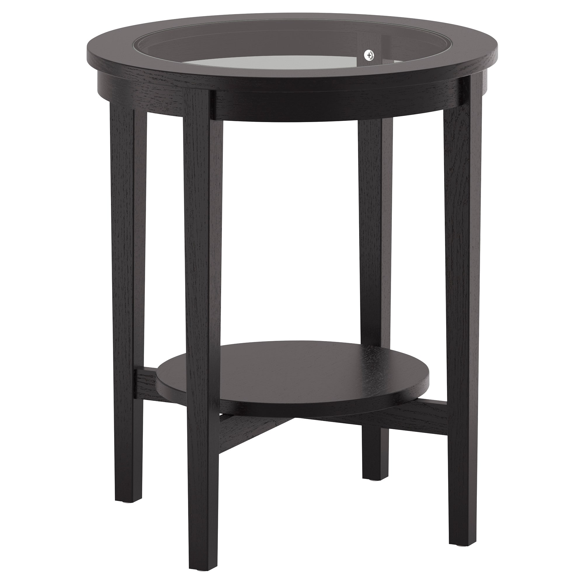side tables nest ikea malmsta table black brown tall accent with storage veneered surface gives the natural look and feel small couch end mango dining wrought iron lamps boxes