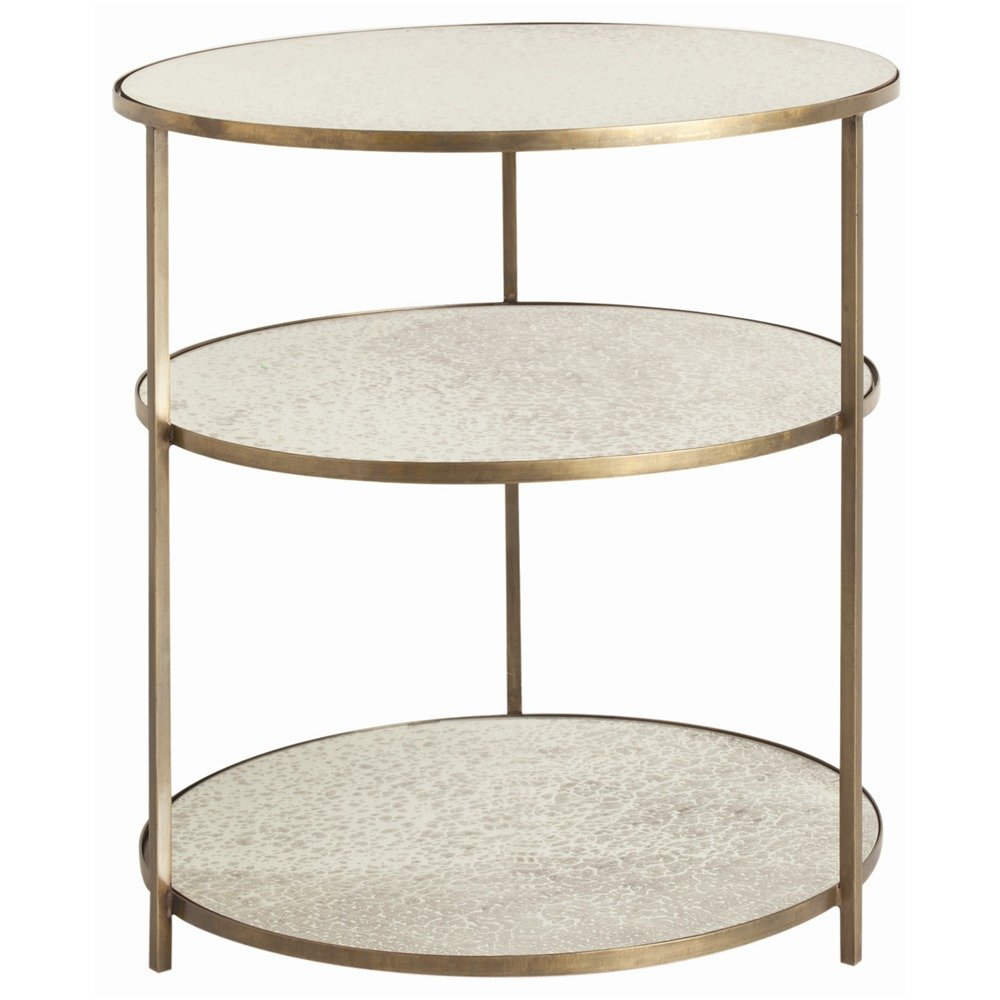side tables perigold percy end table mirrored pyramid accent gold and silver coffee small kitchen lamp garden chair covers porch tray iron hairpin legs mahogany nest round with