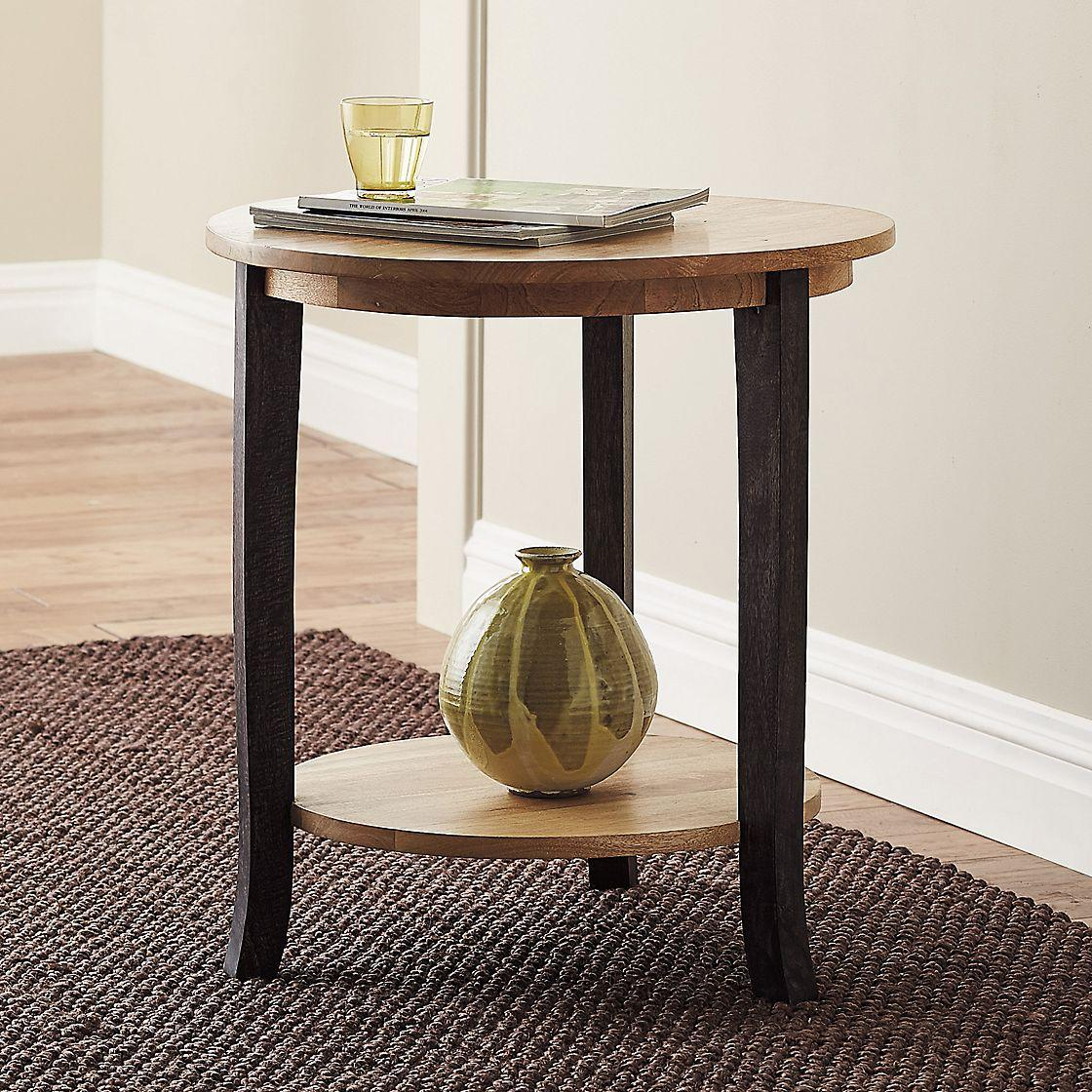 side tables supply usafurnishingsdepot brandt accent table ottawa brown gray modern metal and glass coffee round wood dresser trunk chest pottery barn living room chairs butterfly