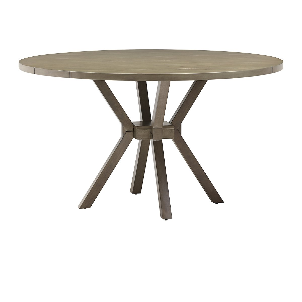 sienna gray round table acacia wood accent trestle bench legs crystal lamp nautical chair dining room sofa pier one imports pillows bunnings umbrella end tables outdoor side