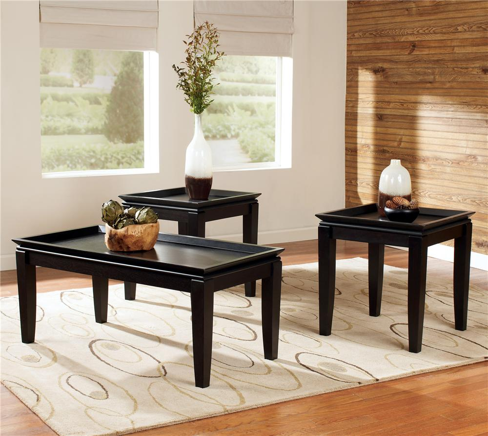signature design ashley delormy pack contemporary collections furniture toc piece set coffee table end tables occasional item number inch farmhouse home sense bedding ethan allen