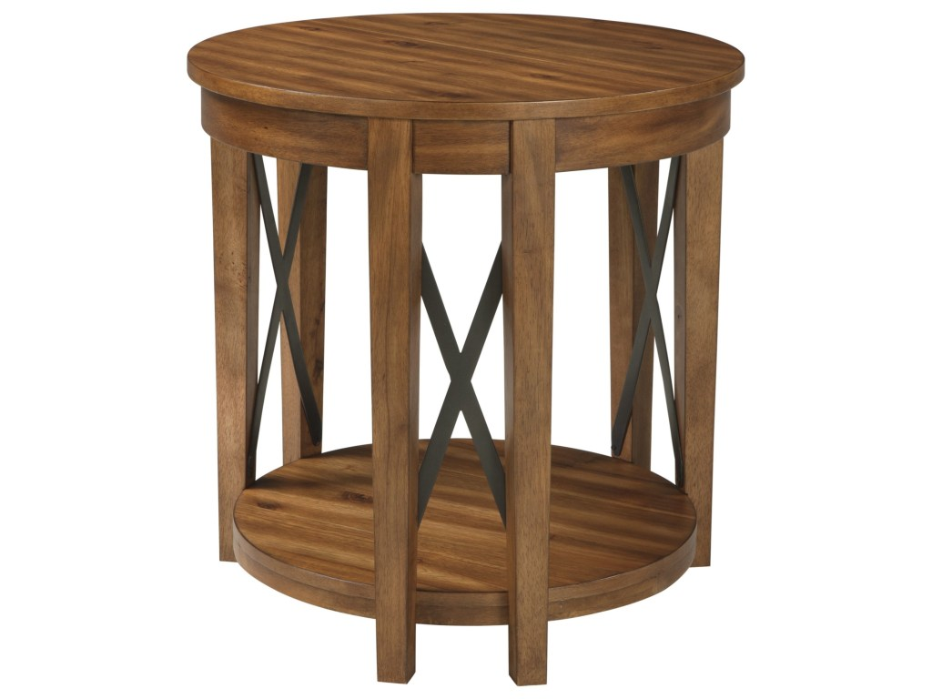signature design ashley emilander round end table with products color acacia wood accent emilanderround transition bars for laminate flooring trestle bench legs dark tables