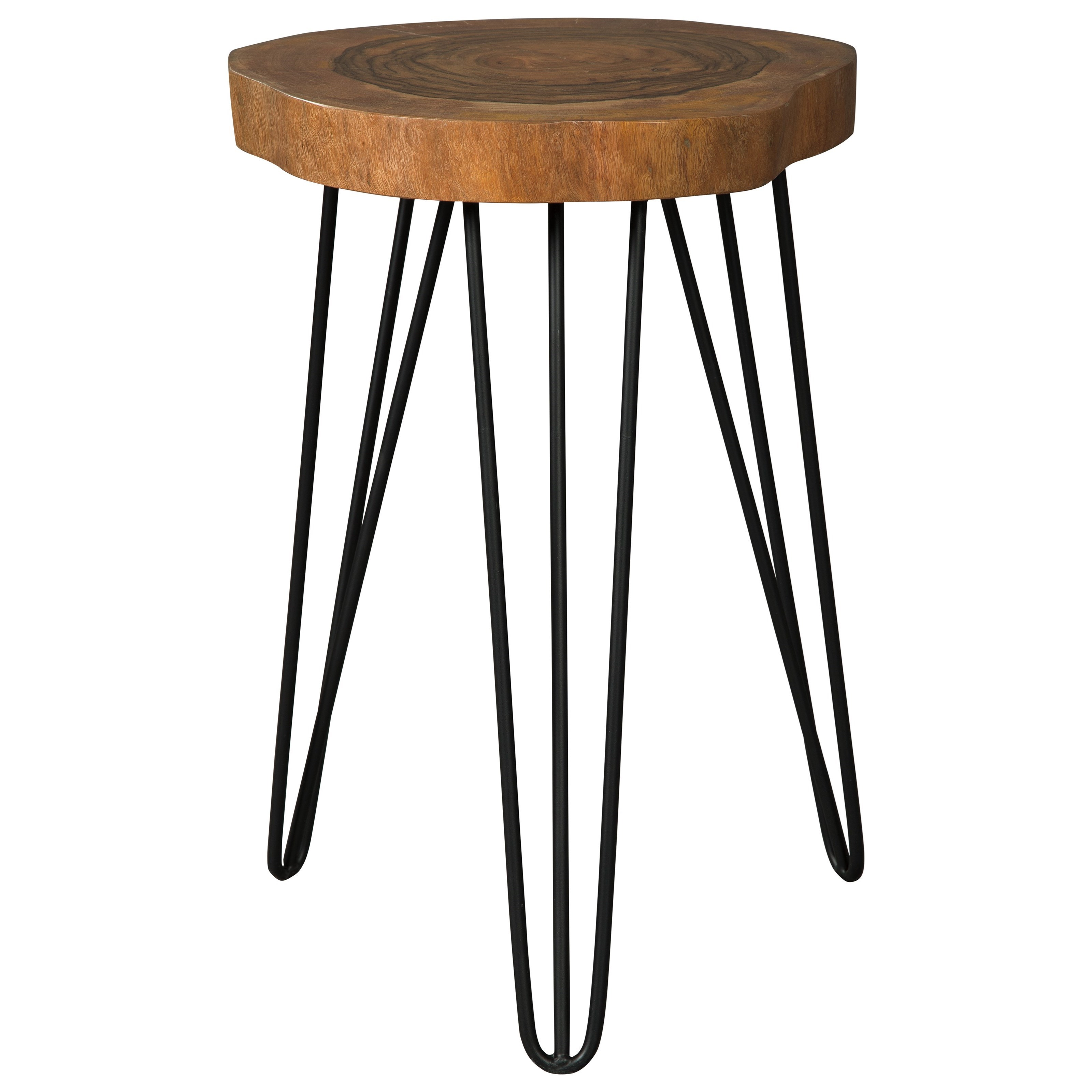 signature design ashley eversboro solid wood accent table with products color inch round covers rustic metal side modern sideboard odd coffee tables xmas tablecloths and runners