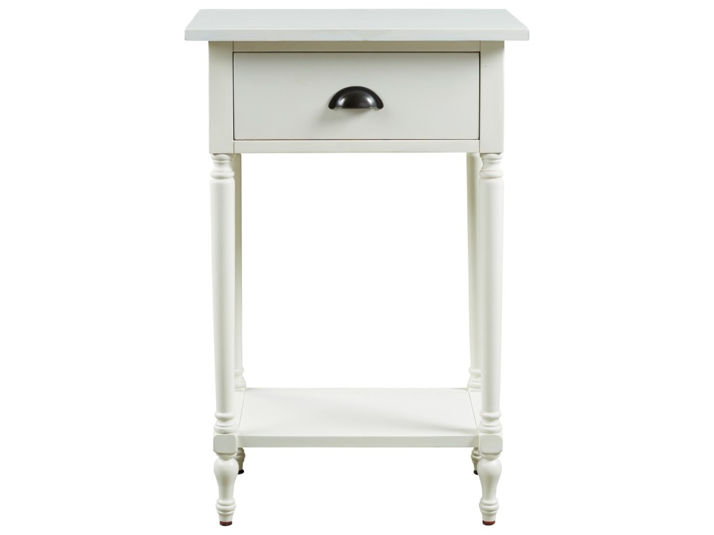 signature design ashley juinville tall accent table with drawer products color metal juinvilleaccent furniture occasional tables top brands round washable tablecloth room
