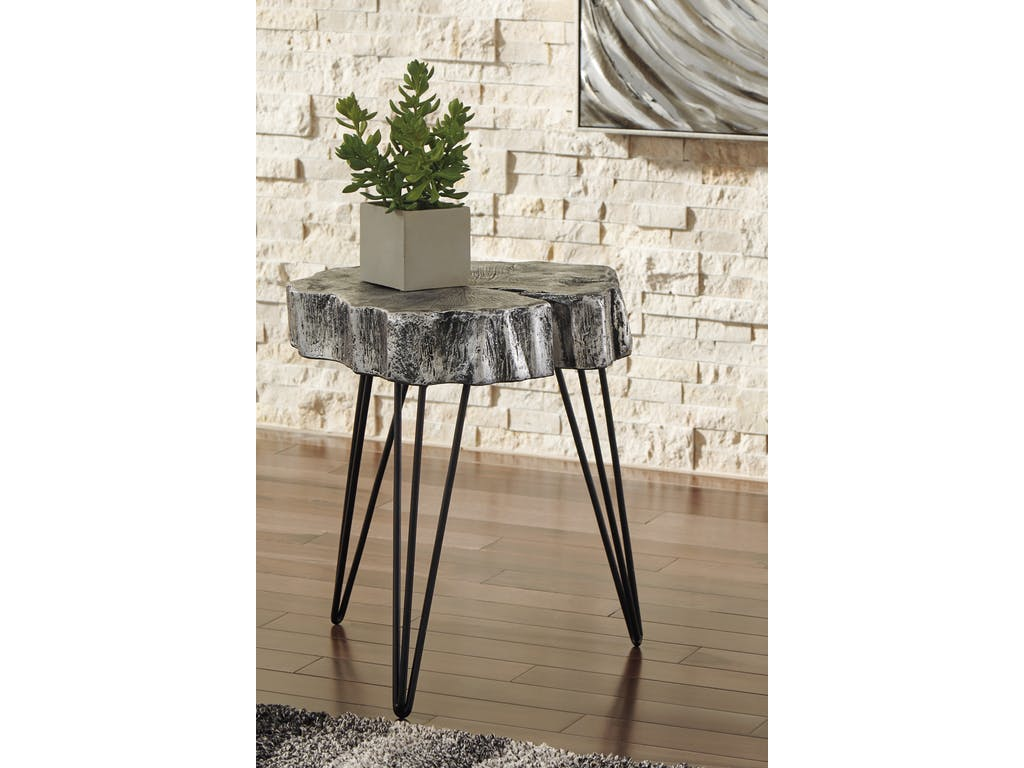 signature design ashley living room accent table dining scholet furniture triangle shaped end western rustic farmhouse tables black lamp for wood patio cool coffee designs bombay