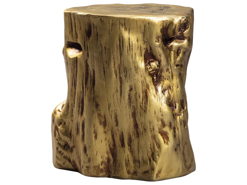 signature design ashley majaci gold tree stump accent products color threshold table beck furniture end tables white marble square coffee olympia champagne mirrored long narrow