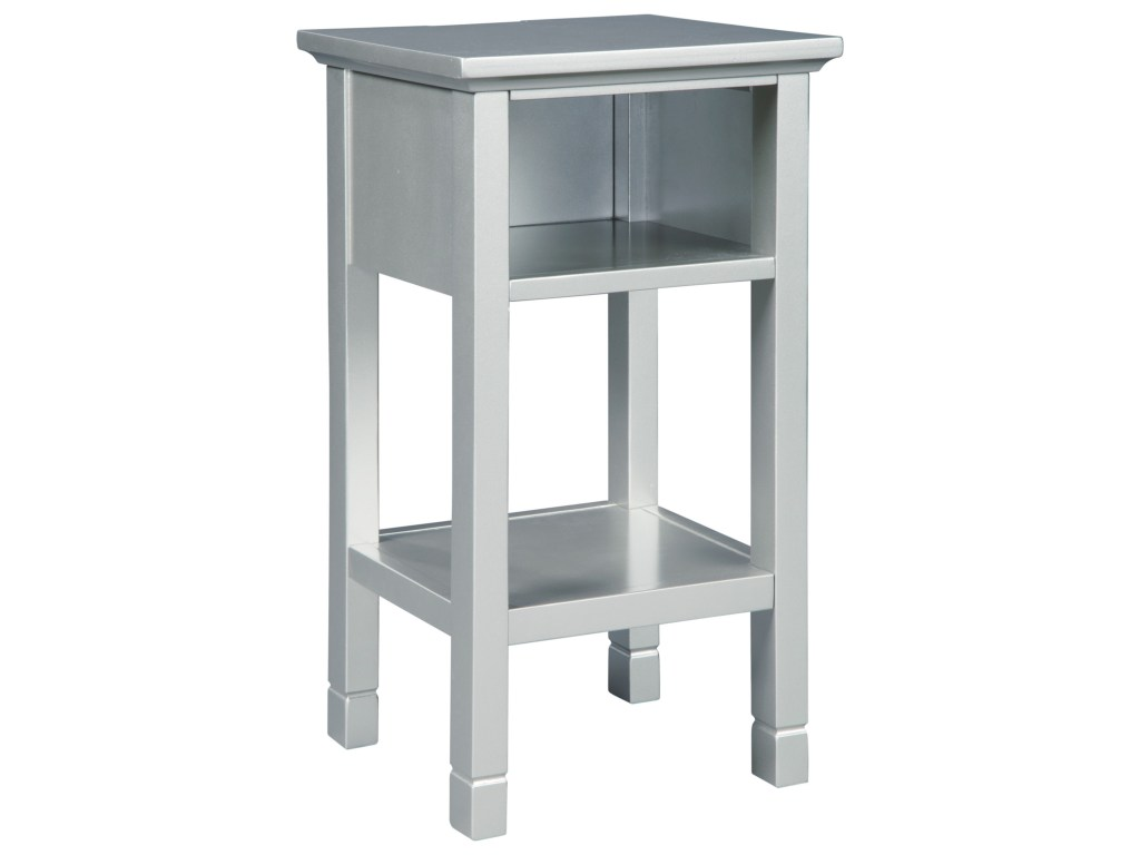 signature design ashley marnville contemporary accent products color table with shelf cubby household furniture end tables corner chest tassel garland target glass stacking gray