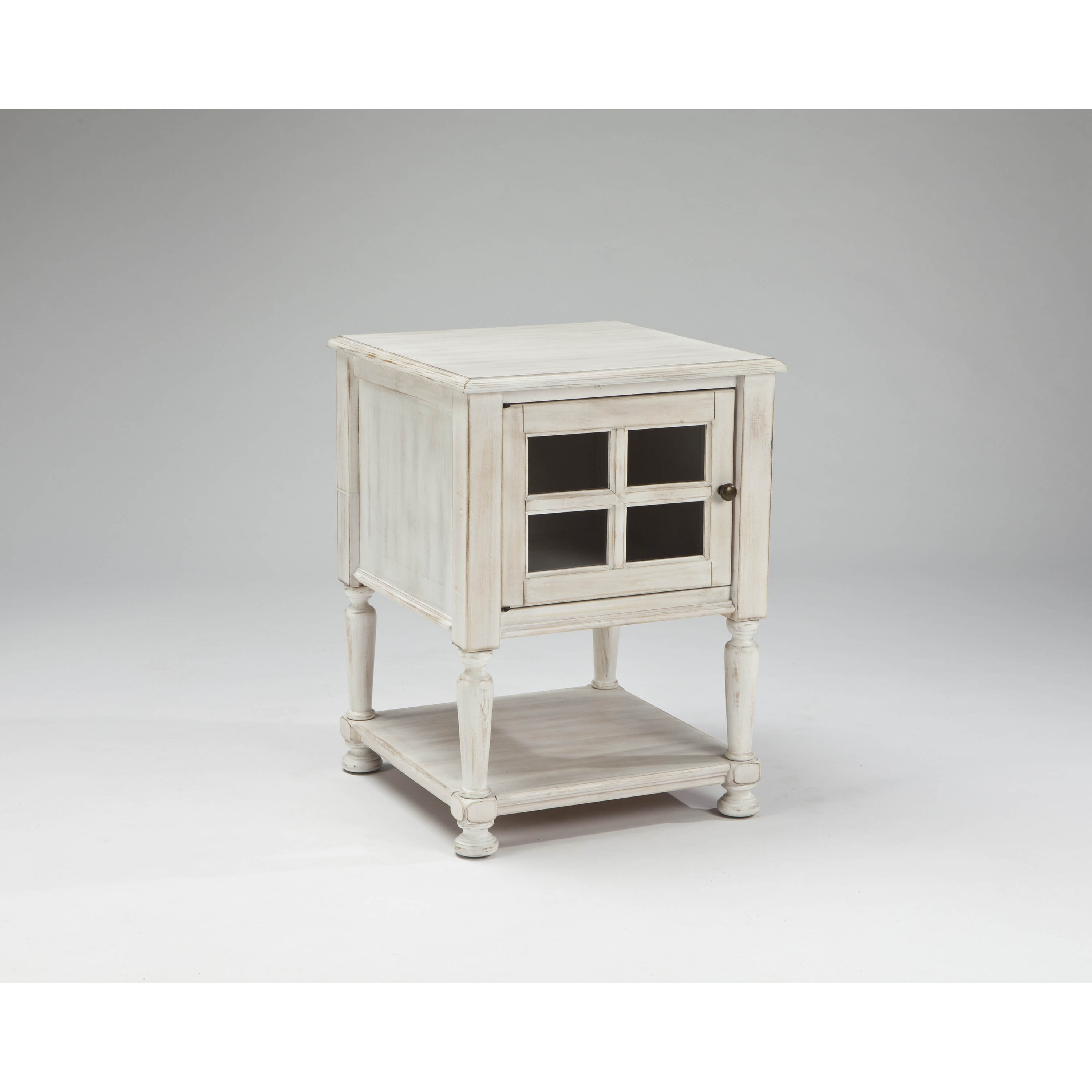 signature design ashley mirimyn white chair side end table linon galway accent free shipping today walnut trestle dining bar stools uttermost gin cube plastic frame target kitchen