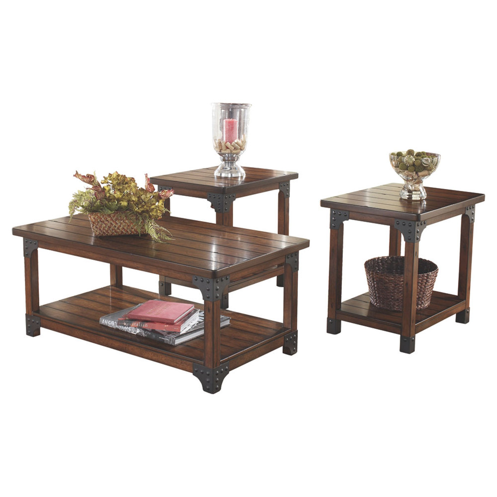 signature design ashley murphy occasional table set accent navy tables large glass dining small folding end sitting chairs for living room tiffany reading lamp funky garden