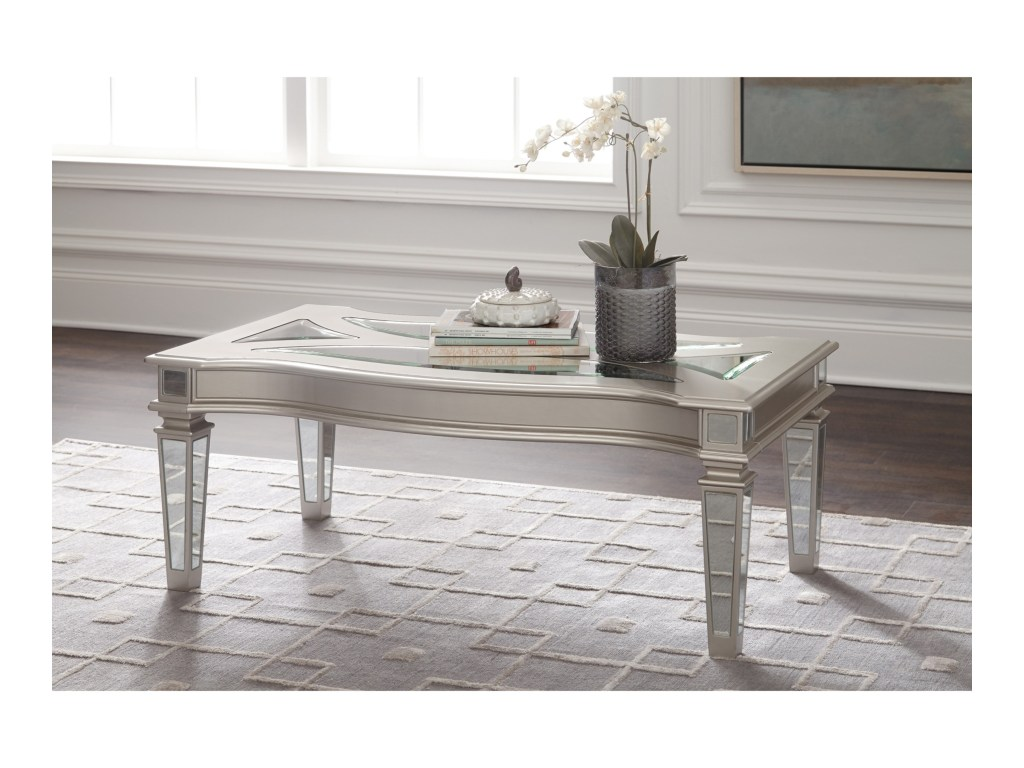 signature design ashley tessani silver finish rectangular products color jackson patio accent table tessanirectangular cocktail rustic dark wood coffee knotty pine black marble