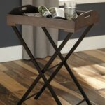 signature design cadocridge black and gray wood accent grey table target end glass side tables for living room makeup pottery barn headboard trestle dining night contemporary 150x150