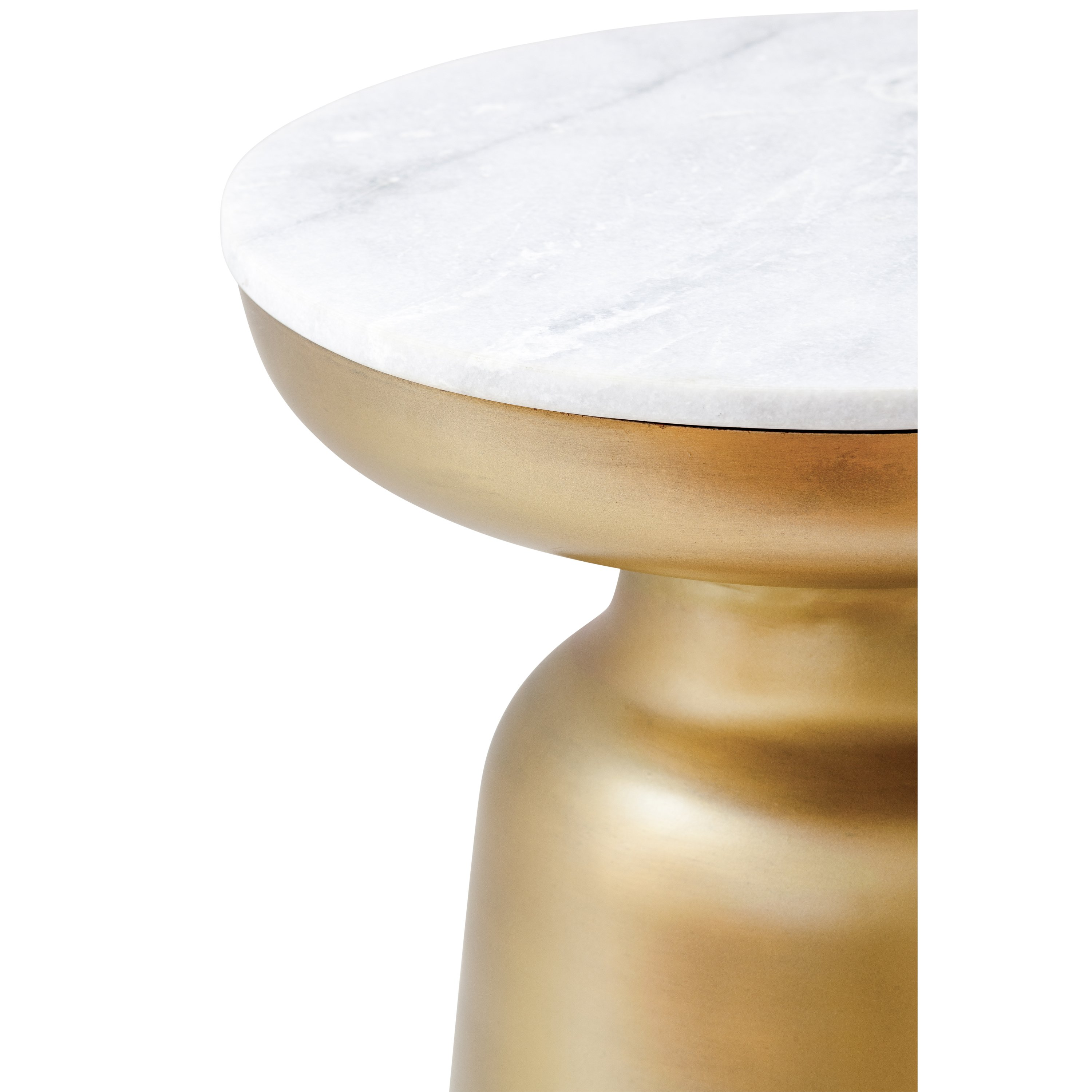 signy drum accent table with marble top poly bark brs home click pop out previous slide antique brass pulaski furniture reviews cocktail and end tables coffee sets clearance