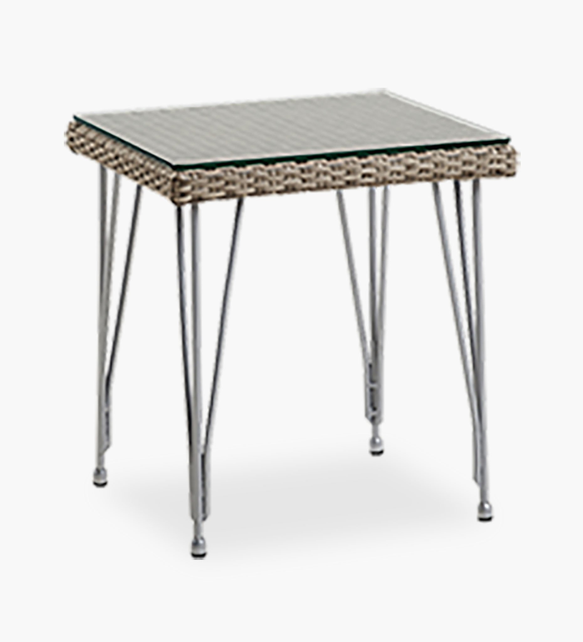sika design mercur outdoor side table all weather rattan teak grey circular patio furniture covers colorful lamps small cabinet legs nightstand under drop down kitchen art deco