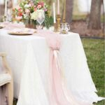 silk blush pink chiffon table runner wedding and bridal shower accent your focus tic decor arcadiadesigns tablerunner furniture sectional dining mats designs nautical pendant 150x150