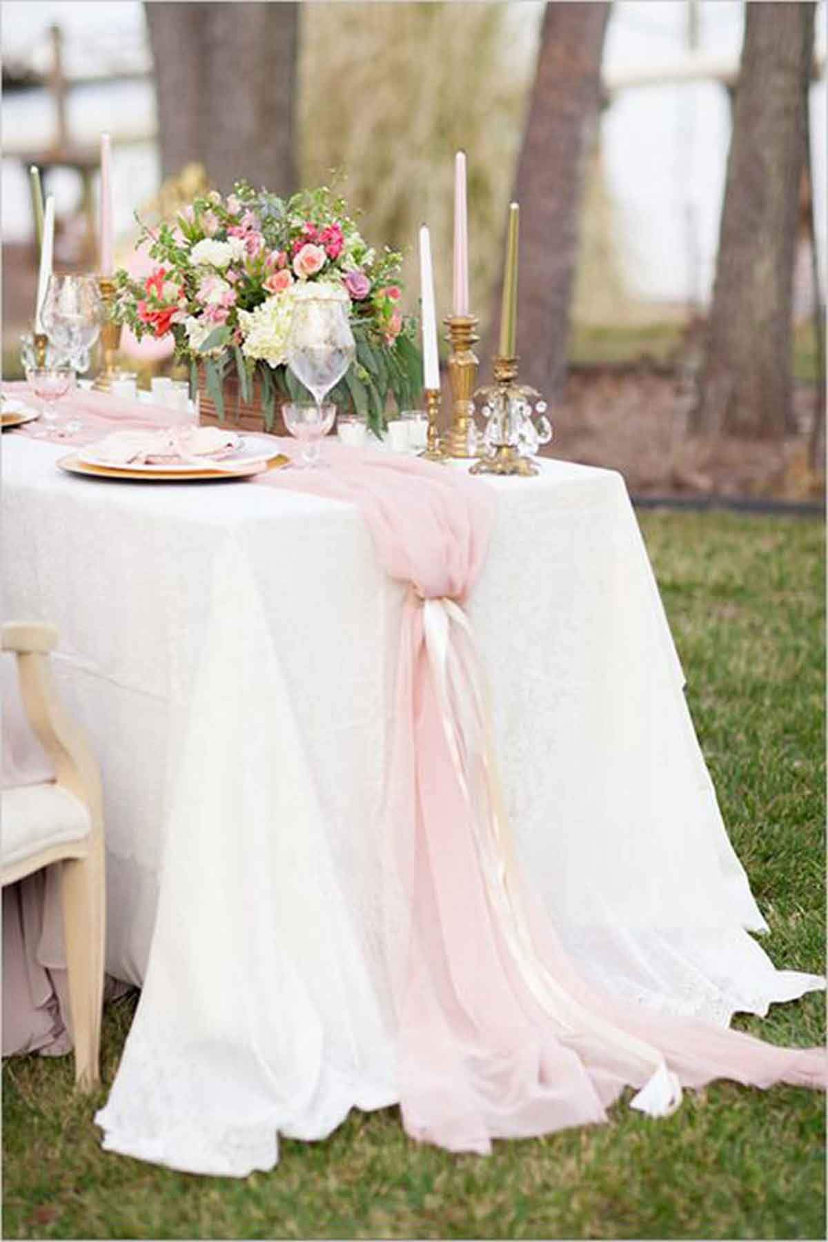 silk blush pink chiffon table runner wedding and bridal shower accent your focus tic decor arcadiadesigns tablerunner furniture sectional dining mats designs nautical pendant