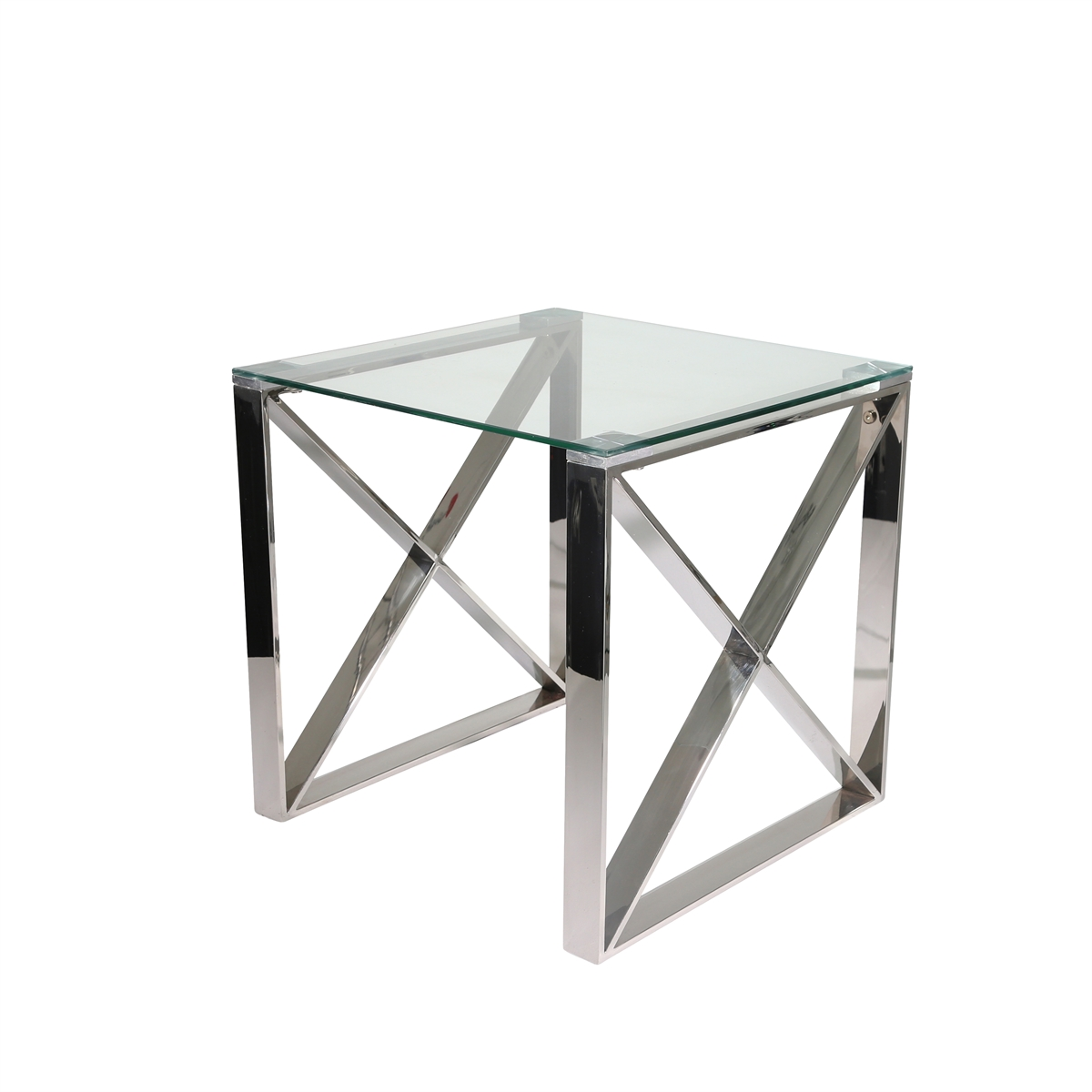 silver metal glass accent table sagebrook home log for pricing and availability material french beds bedroom furniture packages white bedside tables kmart shoe organizer target