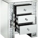 silver mirrored crystals drawer accent table gadgets three each interior wide deep high contemporary from studio finish over mdf corner computer desk with hutch screen porch 150x150