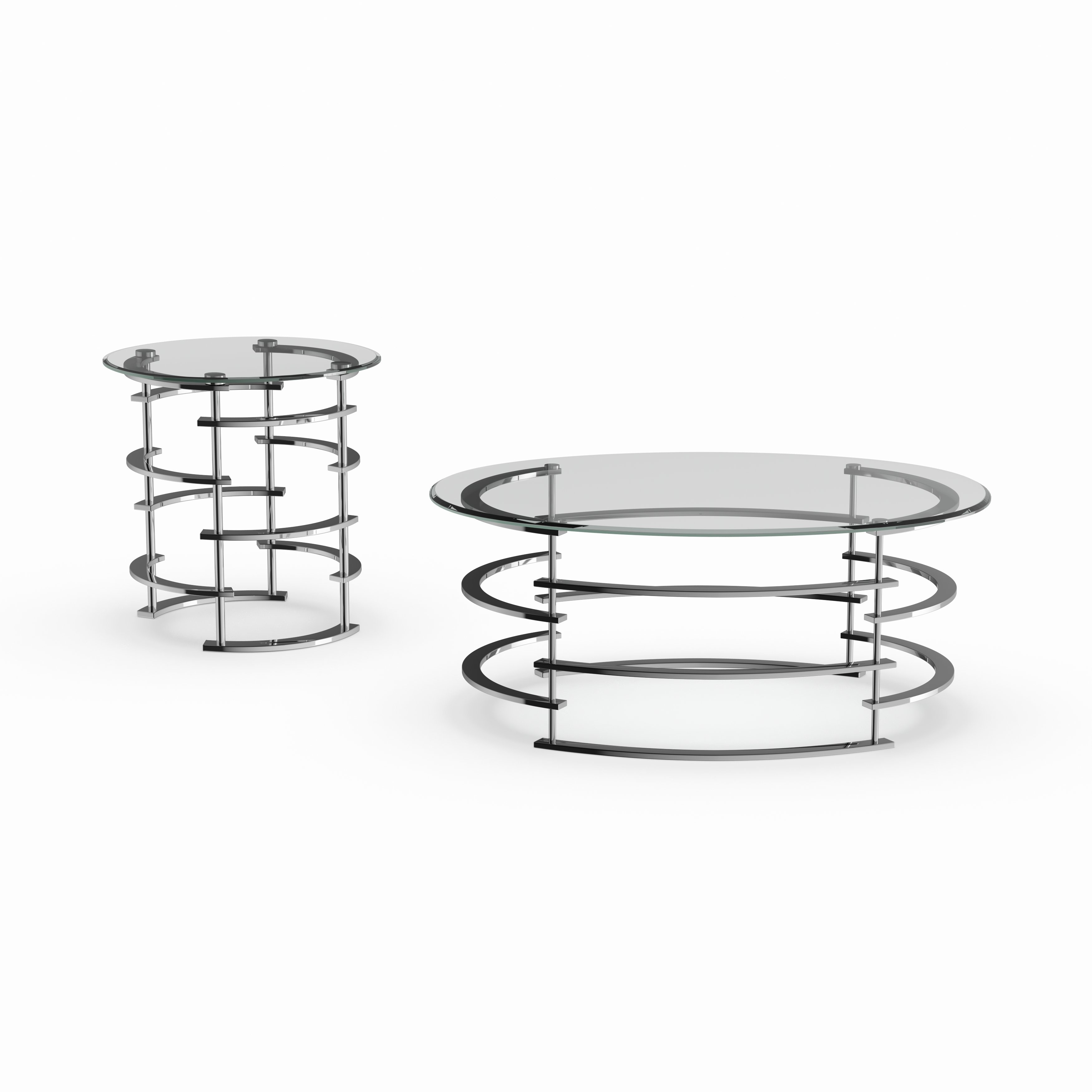 silver orchid marcello contemporary piece glass top accent table set tables carpet edge strip wicker furniture clearance bedroom lamps black drum throne seat only kirklands wall