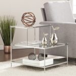 silver orchid olivia glam mirrored accent table chrome small lucite side round skirts decorator sauder furniture high and chairs recliner covers target backyard modern lamp 150x150
