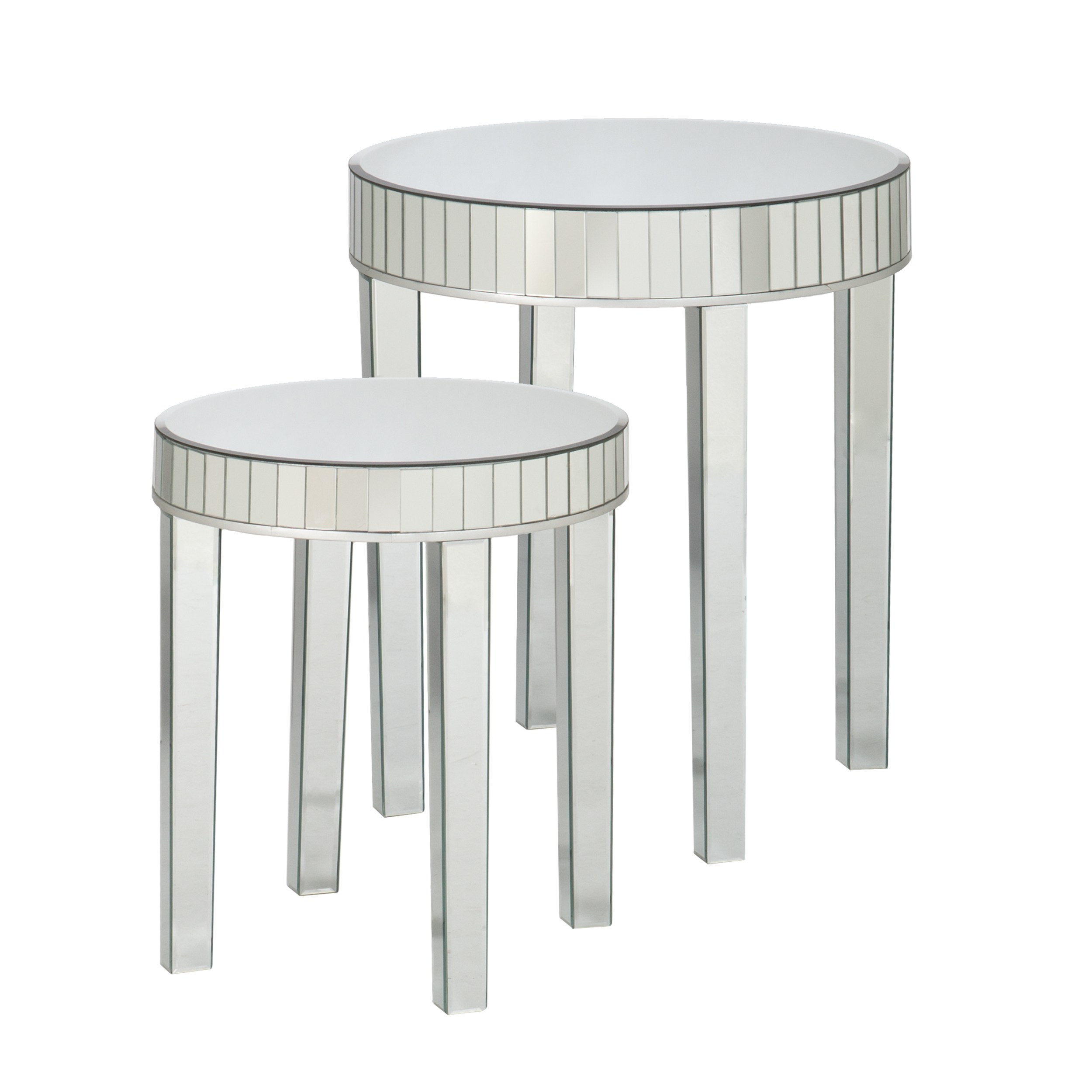 silver orchid olivia round mirrored nesting accent table upton home tifton set free shipping today black telephone teak rocking chairs target cocktail telesco legs white corner
