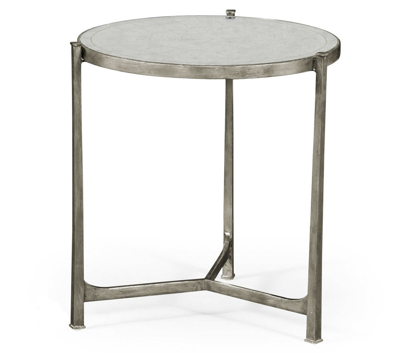silver side table tables end small accent elegant tall antiqued mirrored partner console coffee available hospitality residential white living room chairs high and modern lamp