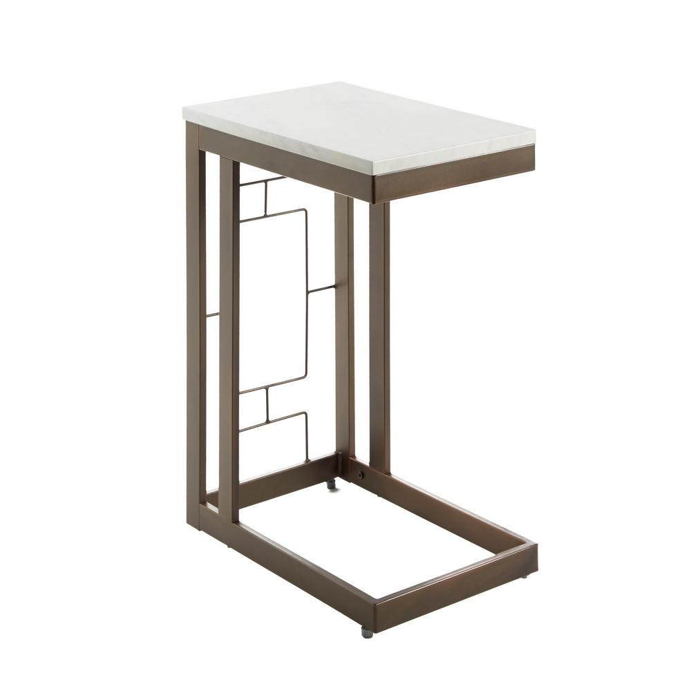silverwood bronze double square table with accent end tables modern coffee legs designs diy round solid pine furniture outdoor patio drawers ikea storage chest circle acrylic side