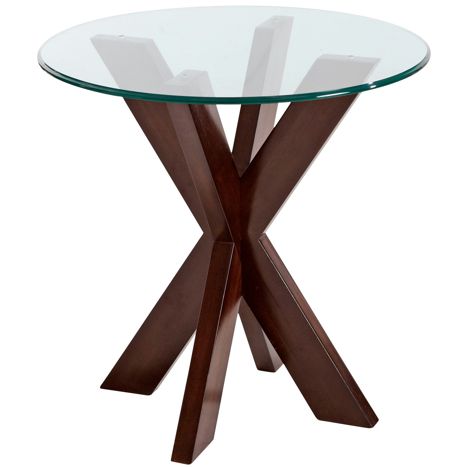 simon espresso end table base pier imports acacia wood accent collection round tablecloth sizes antique wall clocks kitchen placemats mid century modern popular coffee tables