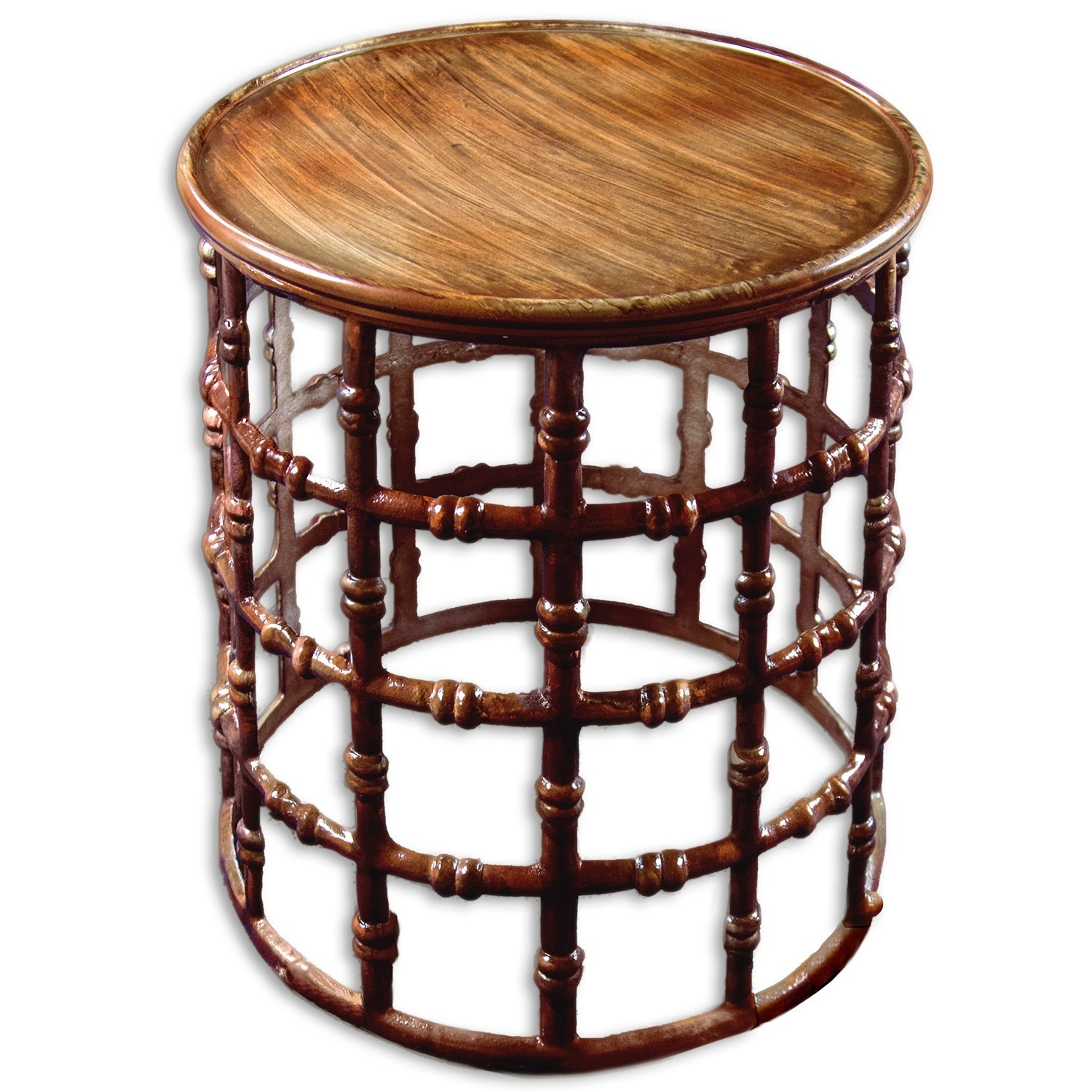 simple metal garden stool accent table ideas shaped round farmhouse dining canadian tire coffee pads pottery barn mahogany dale lamps mirrored bedside butler foyer chest storage