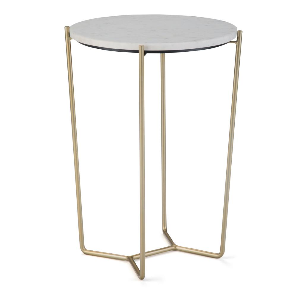 simpli home dani white and gold accent table axcdan the end tables accents dishes mid century modern cocktail outdoor deck furniture round tablecloth pattern kids edmonton small