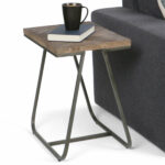 simpli home hailey narrow end table reviews avery glass top accent contemporary sofa design farm kitchen build wood coffee and wine rack waiting area furniture round wall clock 150x150