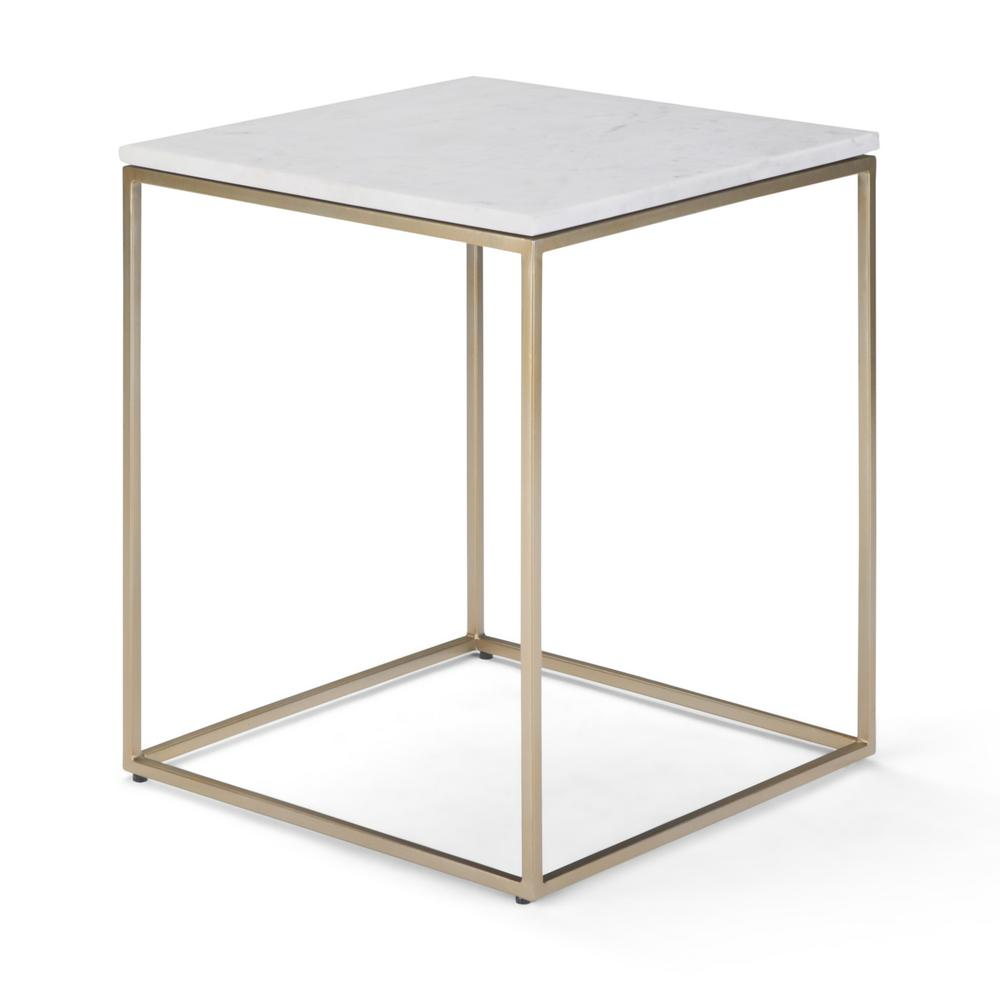 simpli home kline white and gold accent table axckli the end tables imitation furniture clear acrylic sofa outdoor daybeds clearance inch round cloth tablecloths tall skinny side