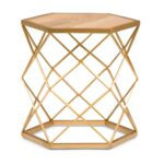simpli home kristy natural and gold metal wood accent table axcmtbl end tables decor mosaic outdoor dining contemporary lighting tablecloth small clear mid century old wall clock 150x150