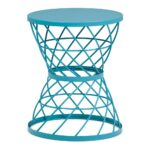 simpli home rodney turquoise metal accent table axcmtbl the end tables avalon round ethan allen ballan stump west elm storage bench coffee leg ideas bar driftwood side outdoor 150x150