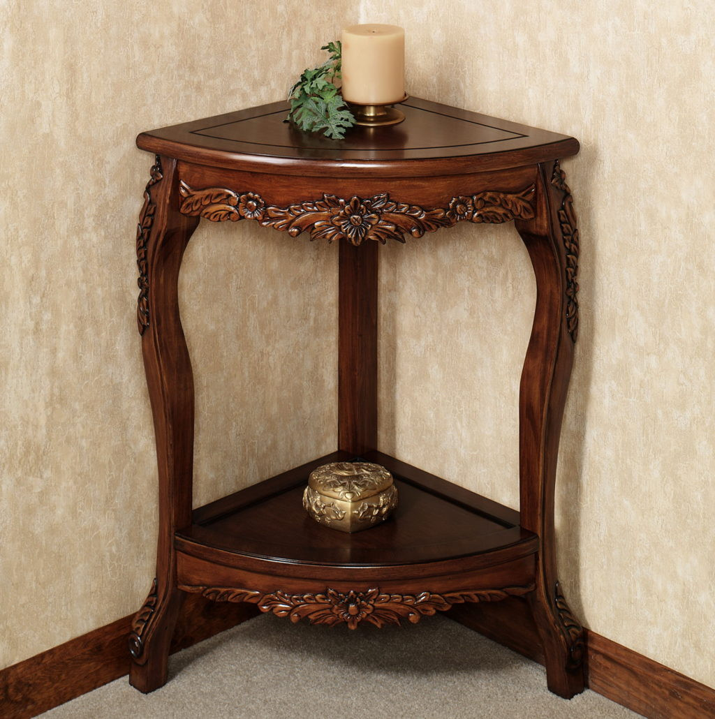 single wooden corner shelf beautiful vintage wood fantastic alluring small accent table decor ideas home metal with shelves rustic trunk coffee college dorm room large patio