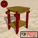 sketch the day grill side table chief outdoor coffee and end tables trestle dimensions sofa set modern wooden designs average height piece living room purchase linens rustic patio 150x150