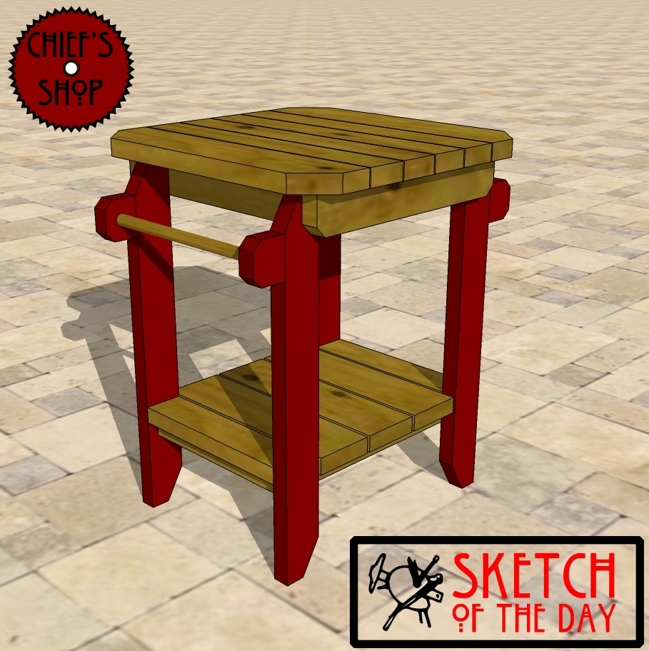 sketch the day grill side table chief outdoor coffee and end tables trestle dimensions sofa set modern wooden designs average height piece living room purchase linens rustic patio