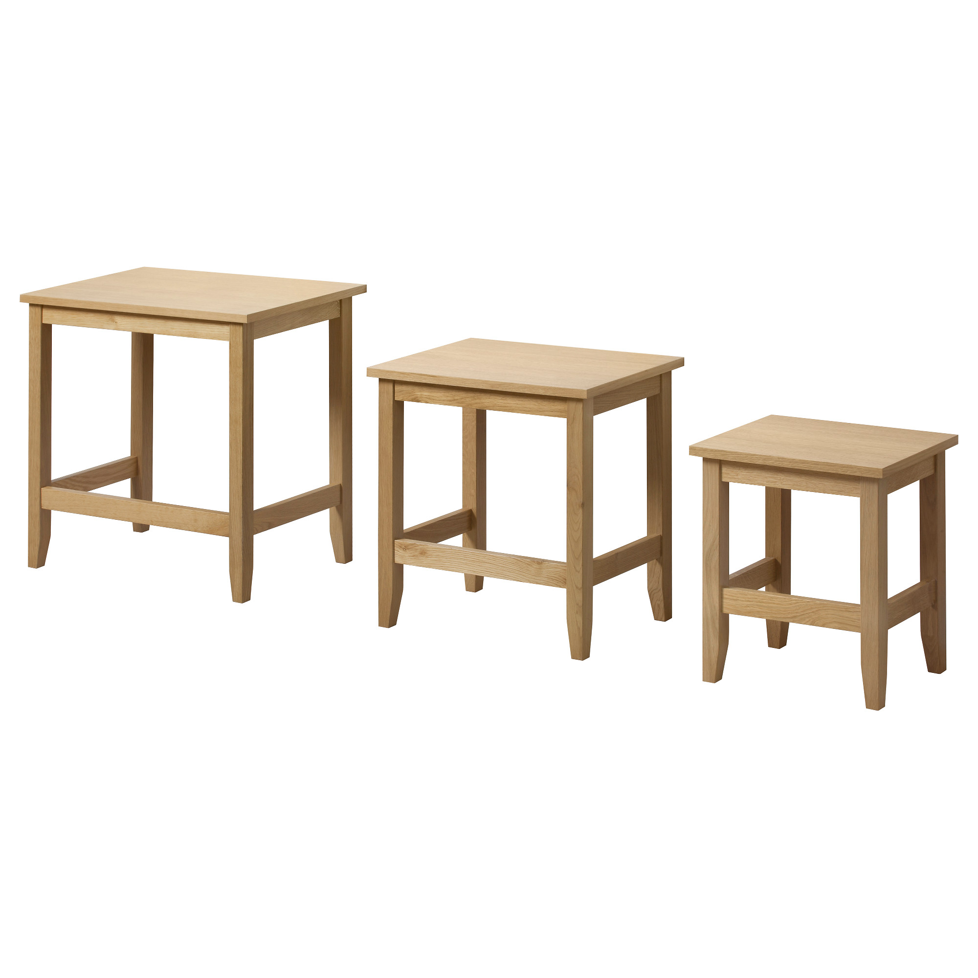 skoghall nest tables set oak living room coffee ikea art can inspired and accent table sets occasional lucite sofa apartment furniture drum stool round patio end silver glass