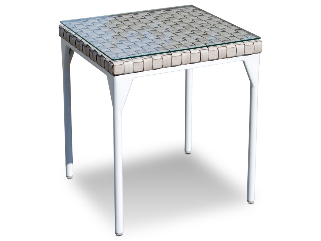 skyline design brafta outdoor side table with glass top baer products color braftaoutdoor wide bedside cabinets flip wood end black metal and tables brass coffee peva tablecloth