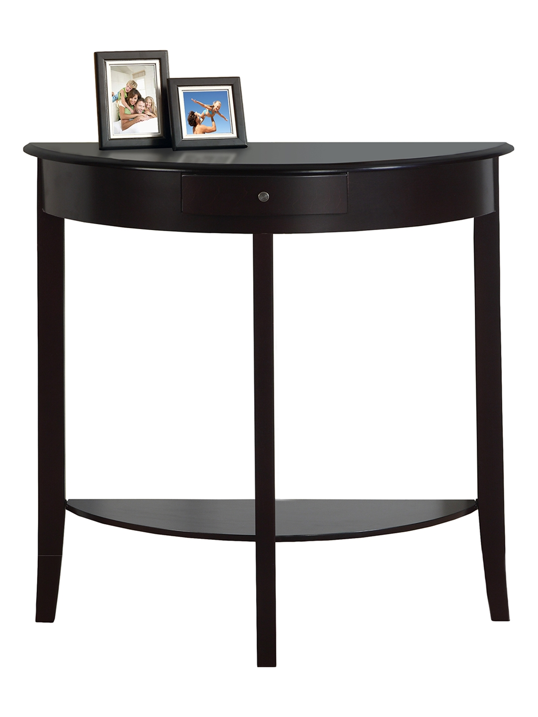slim end table wrought iron accent tables monarch specialties hall console trend tall nested furniture white linen tablecloth marble coffee wall clock dale lighting lamps cherry