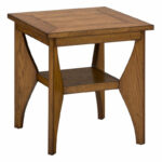 small accent chairs probably terrific great white oak end table honey gardner from furniture solid pine bookcase cherry wood tables barnwood sofa laptop baker barbara barry 150x150