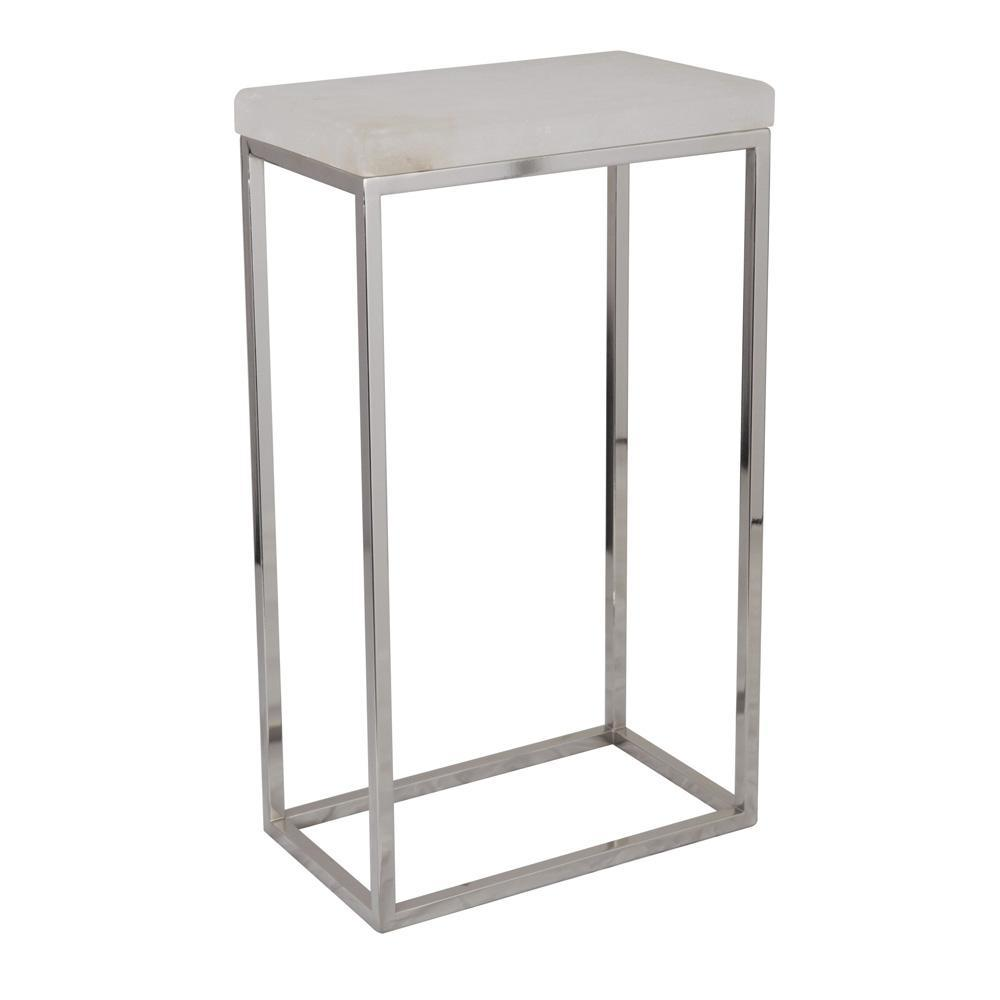 small accent table ikaittsttt ideas sebastian white alabaster satin nickel mariana home decor related usb lamp cube console round entryway furniture tennis set threshold fretwork