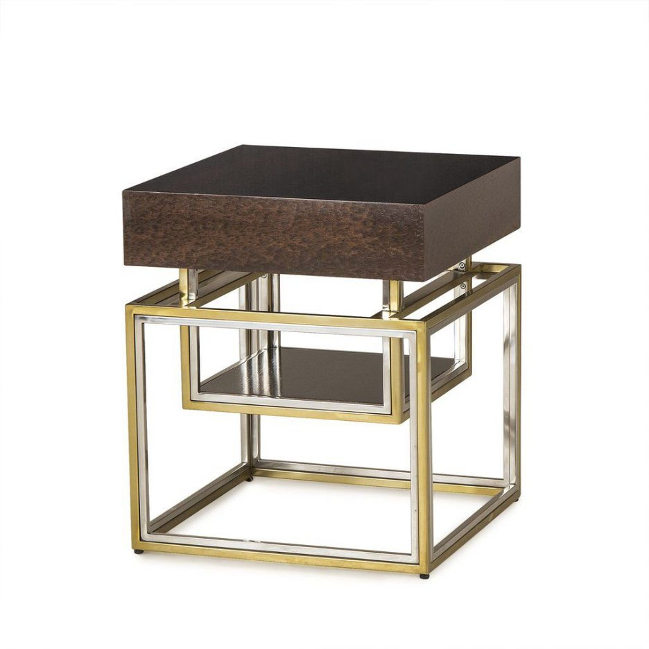 small accent table with storage circular bedside metal legs quatrefoil wood round black acrylic bar threshold lightweight concrete furniture uttermost martel console rectangle