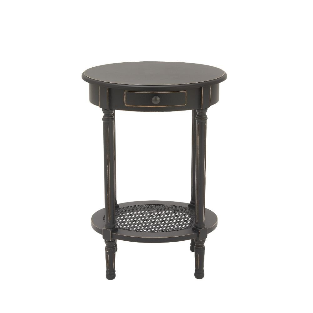 small black accent table find tall get quotations deco wood target mirrored mirage cabinet concrete top side narrow console for hallway outdoor wicker with umbrella hole country