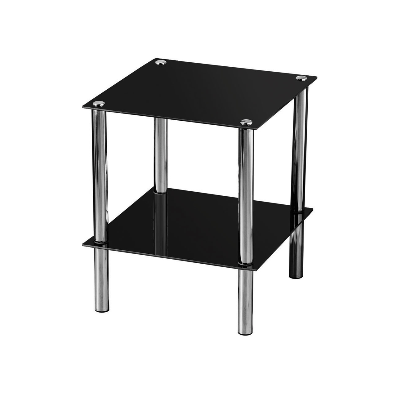 small black accent table metal lamp tables end square glass nautical lights desk tile floor threshold cool home decor chrome furniture legs ashley leather sofa wine storage