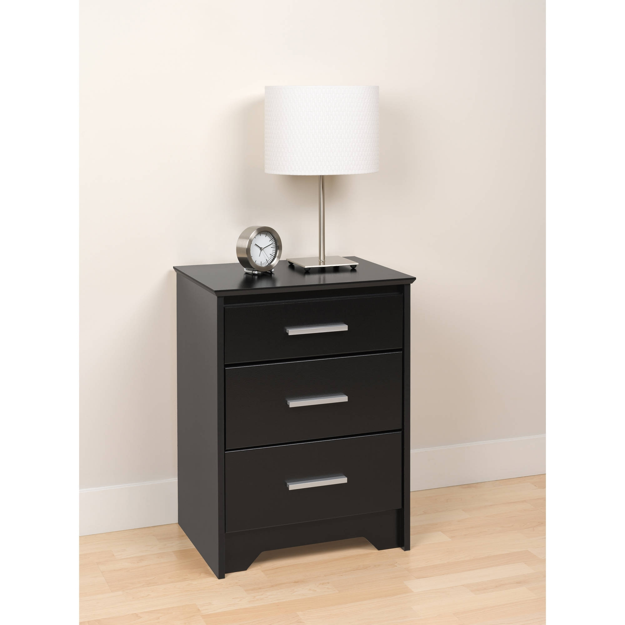small black end table the home redesign mainstays nightstand ebony ash with accent marble living room chairs floor dividers threshold solid oak tables media console furniture best